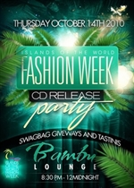 """Mode Îles Ltd to launch """"Islands of the World Fashion Week CD: Vol. 1"""""""